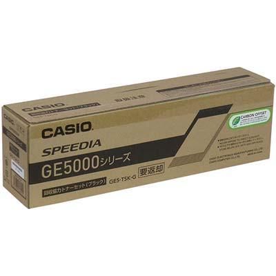 【国内純正】カシオ CASIO GE5-TSK-G 回収協力トナー ブラック