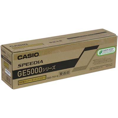【国内純正】カシオ CASIO GE5-TSY-G 回収協力トナー イエロー