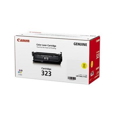 【国内純正】Canon トナーカートリッジ 323 Y (イエロー) CRG-323YEL