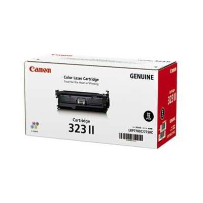 【国内純正】Canon トナーカートリッジ 323II BK (ブラック) CRG-323IIBLK