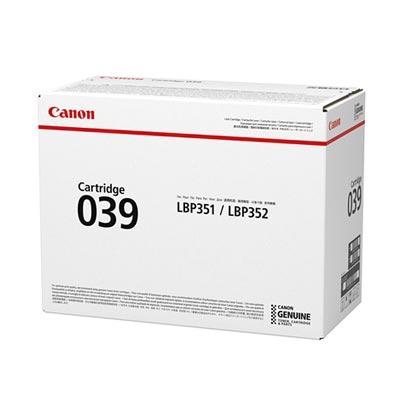 【国内純正】Canon トナーカートリッジ 039 CRG-039