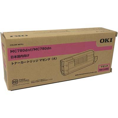 【国内純正】OKI 大容量トナーカートリッジ マゼンタ TNR-C4RM1