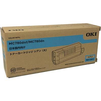 【国内純正】OKI 大容量トナーカートリッジ シアン TNR-C4RC1