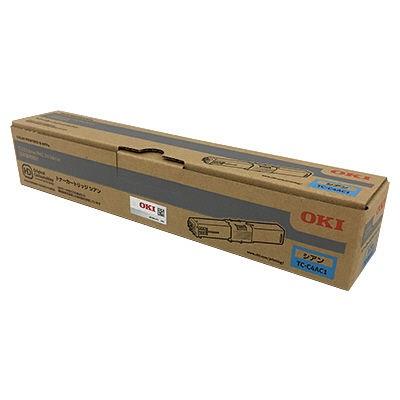 【国内純正】OKI トナーカートリッジ シアン TC-C4AC1