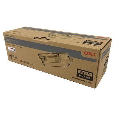 【国内純正】OKI トナーカートリッジ ブラック (大) TC-C4AK2
