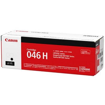 【国内純正】Canon トナーカートリッジ 046H BK(ブラック)  CRG-046HBLK