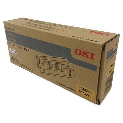 【国内純正】OKI トナーカートリッジ イエロー TC-C4CY1