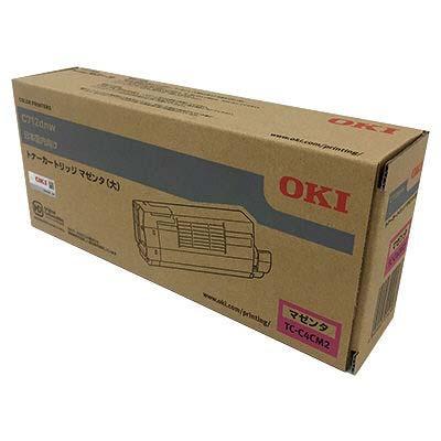 【国内純正】OKI トナーカートリッジ マゼンタ (大) TC-C4CM2