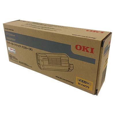 【国内純正】OKI トナーカートリッジ イエロー (大) TC-C4CY2