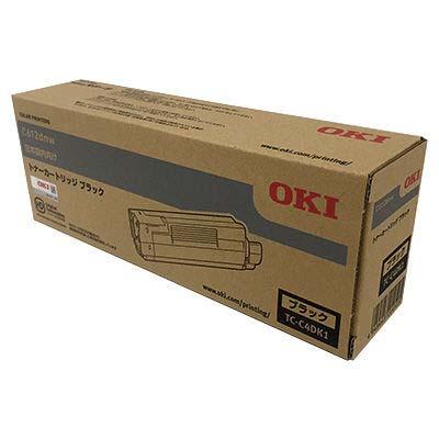 【国内純正】OKI トナーカートリッジ ブラック TC-C4DK1