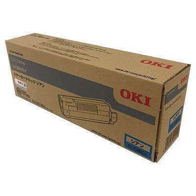 【国内純正】OKI トナーカートリッジ シアン TC-C4DC1