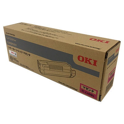 【国内純正】OKI トナーカートリッジ マゼンタ TC-C4DM1