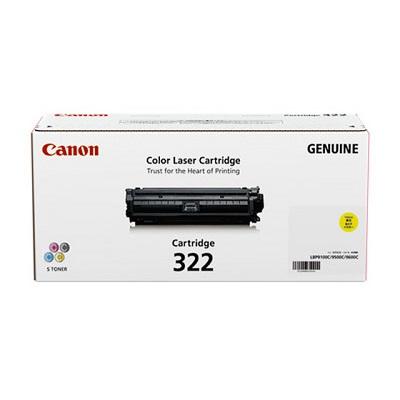 【国内純正】Canon トナーカートリッジ 322 Y (イエロー) CRG-322YEL