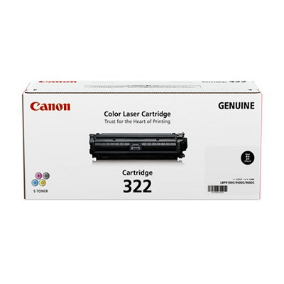 【国内純正】Canon トナーカートリッジ 322 BK (ブラック) CRG-322BLK