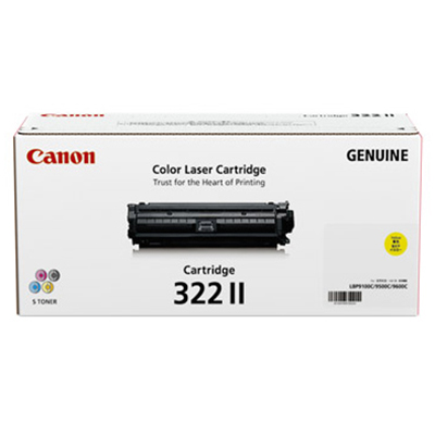 【国内純正】Canon トナーカートリッジ 322II Y (イエロー) CRG-322IIYEL