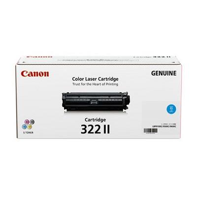 【国内純正】Canon トナーカートリッジ 322II C (シアン) CRG-322IICYN
