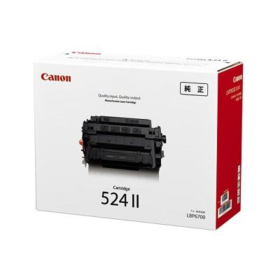 【国内純正】Canon トナーカートリッジ 524II CRG-524II