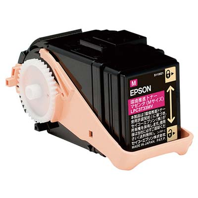 【国内純正】EPSON 環境推進トナーマゼンタ Mサイズ LPC3T33MV