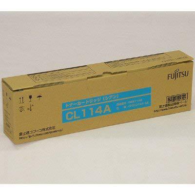 【国内純正】FUJITSU トナーカートリッジ C CL114A 0897140