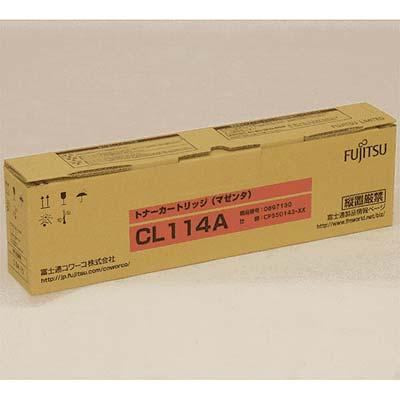 【国内純正】FUJITSU トナーカートリッジ M CL114A 0897130
