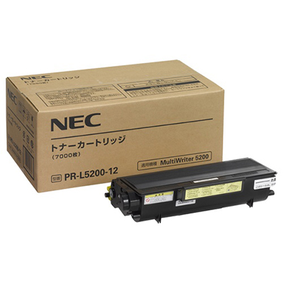 【国内純正】NEC トナーカートリッジ PR-L5200-12