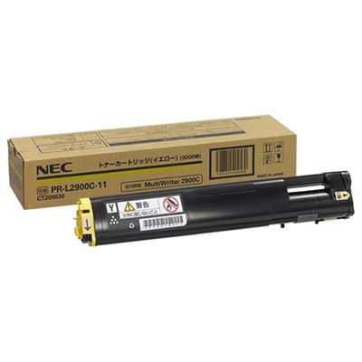 【国内純正】NEC トナーカートリッジ3K イエロー PR-L2900C-11