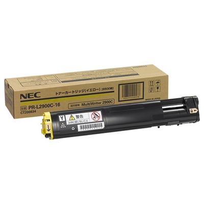 【国内純正】NEC トナーカートリッジ6.5K イエロー PR-L2900C-16