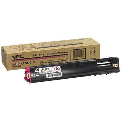 【国内純正】NEC トナーカートリッジ6.5K マゼンタ PR-L2900C-17