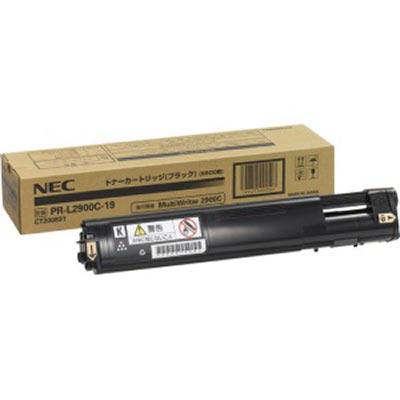 【国内純正】NEC トナーカートリッジ6.5K ブラック PR-L2900C-19