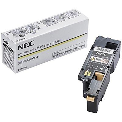 【国内純正】NEC トナーカートリッジ イエロー PR-L5600C-11