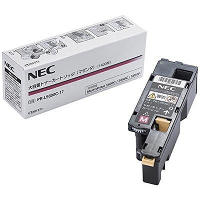【国内純正】NEC トナーカートリッジ マゼンタ PR-L5600C-17