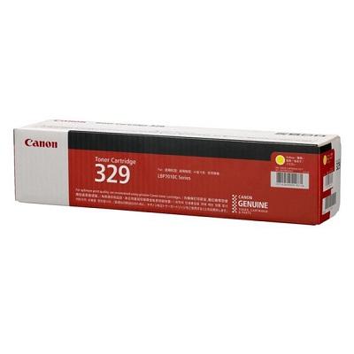 【国内純正】Canon トナーカートリッジ 329 Y(イエロー) CRG-329YEL