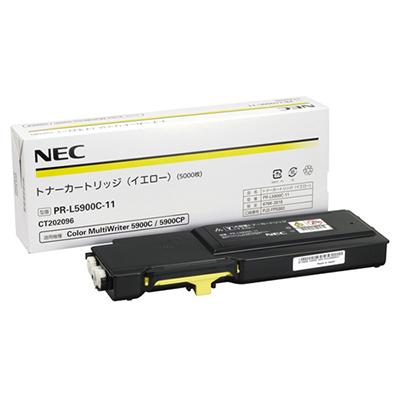 【国内純正】NEC トナーカートリッジ イエロー PR-L5900C-11