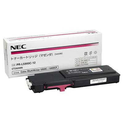 【国内純正】NEC トナーカートリッジ マゼンタ PR-L5900C-12