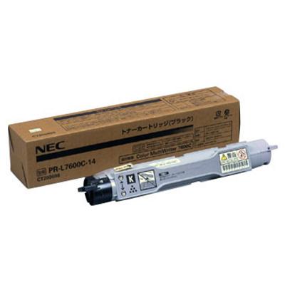 【国内純正】NEC トナーカートリッジ ブラック PR-L7600C-14