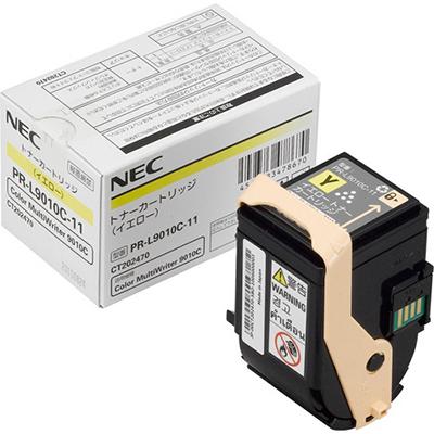 【国内純正】NEC トナーカートリッジ イエロー PR-L9010C-11