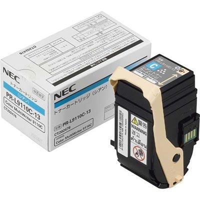 【国内純正】NEC トナーカートリッジ シアン PR-L9110C-13