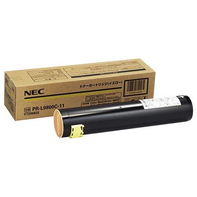 【国内純正】NEC トナーカートリッジ イエロー PR-L9800C-11