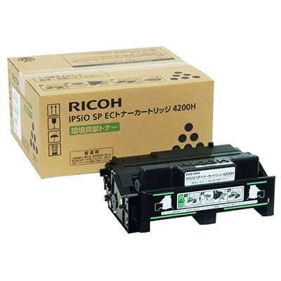 【国内純正】RICOH IPSiO SP ECトナーカートリッジ4200H 308637