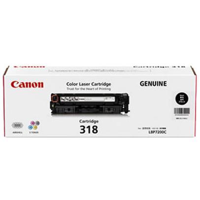 【国内純正】Canon トナーカートリッジ 318 BK (ブラック)  CRG-318BLK