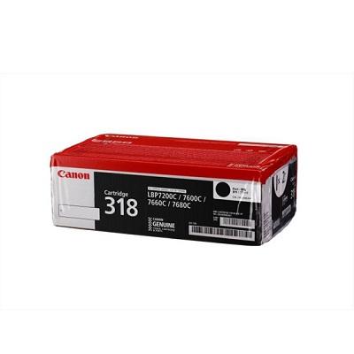 【国内純正】Canon トナーカートリッジ 318 BK (ブラック) VPCRG-318BLKVP
