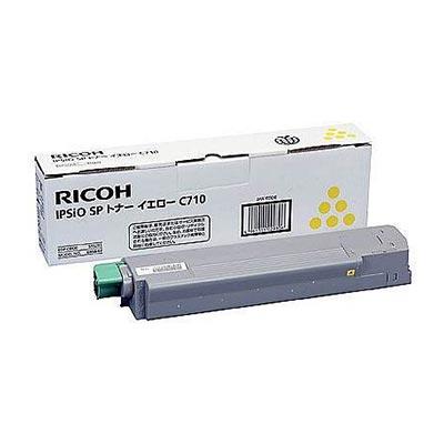 【国内純正】RICOH IPSIO SPトナーイエロ-/タイプC710 515291