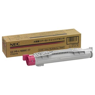 【国内純正】NEC 大容量トナーカートリッジ マゼンタ PR-L7600C-17