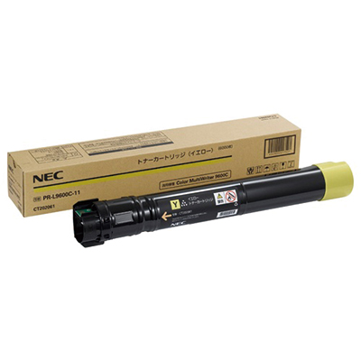 【国内純正】NEC 大容量トナーカートリッジ イエロー PR-L9600C-16