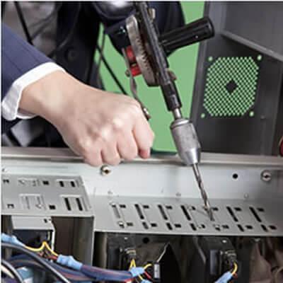 データ消去サービス 液晶モニター 企業向け デジタル産業廃棄物 情報セキュリティ対策 物理破壊処理 完全消去