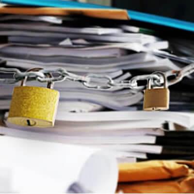 機密文書溶解サービス(段ボール3辺の合計が160センチ未満)企業向け 溶解処理 個人情報 書類処分